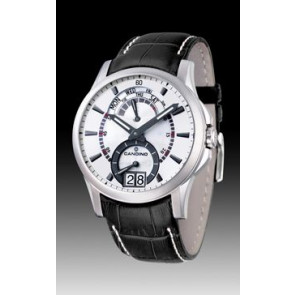 Watch strap Candino C4387/2 Leather Black