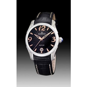Watch strap Candino C4419-3 Leather Black