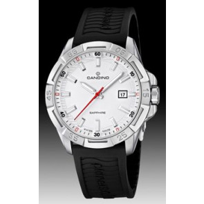 Watch strap Candino C4497-1 (BC07412) Rubber Black
