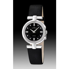 Watch strap Candino C4560-2 Leather Black