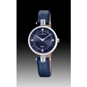 Watch strap Candino C4658-3 Leather Blue