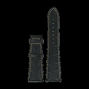 Watch strap Certina C610014032 XL Leather Black 23mm