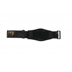 Watch strap Camel Active Velcro Green 26mm