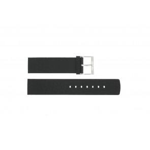 Watch strap Calvin Klein CK75-W08S Leather Black 20mm