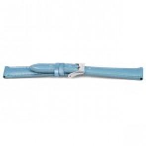 Watch strap Prisma CS184 Leather Light blue 14mm