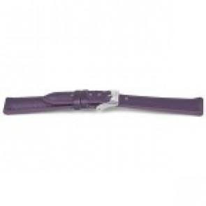 Watch strap Prisma CS185 Leather Purple 14mm