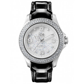 Watch strap Ice Watch CY.SRB.U.L.15 Leather Black 20mm