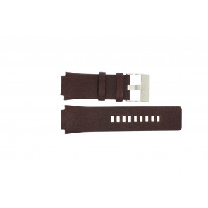 Watch strap Diesel DZ1111 Leather Brown 20mm