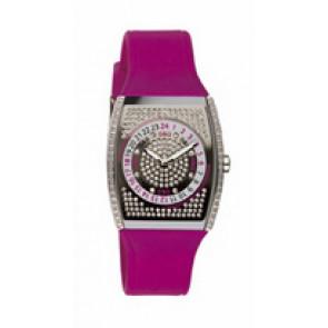 Watch strap Dolce & Gabbana DW0071 Silicone Red