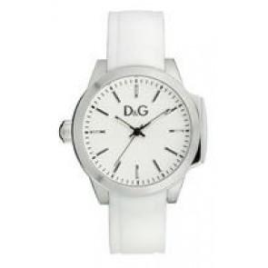 Watch strap Dolce & Gabbana DW0746 Rubber White 18mm