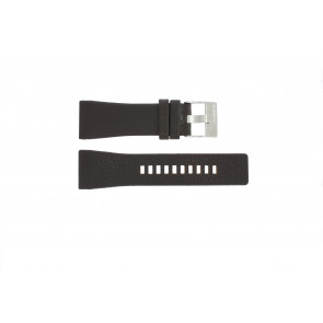 Watch strap DZ1114 Leather Brown 29mm