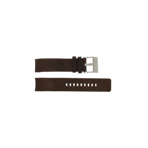 Diesel watch strap DZ4038 / DZ4041 Leather Brown 22mm