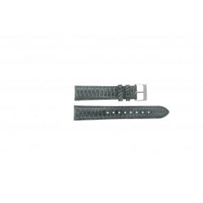 Esprit watch strap ES103062 / 819660 Leather Grey 18mm + grey stitching
