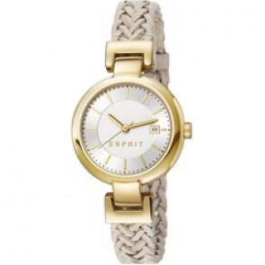 Esprit watch strap ES107632.009 Leather Beige 10mm