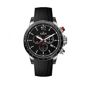Watch strap Edox 10229-3CA-NIN Rubber Black
