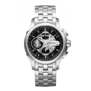 Watch strap Hamilton H001.32.696.139.01 / H605376100 Steel Steel 22mm