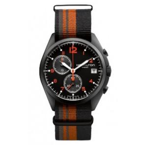 Watch strap Hamilton H76582933 Textiles Multicolor 22mm