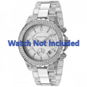 Michael Kors watch strap MK5397 Metal Silver 22mm