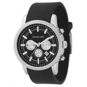da39ea0db790 Watch strap Michael Kors MK8040   MK8055 Rubber Black 22mm