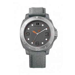 Watch strap Hugo Boss HB-142-1-29-2395 / HO1512666 Textiles Grey 22mm