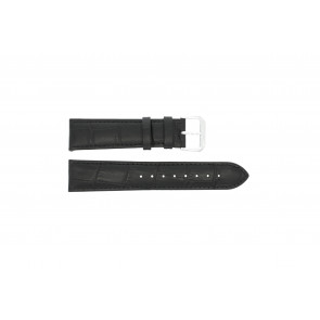Watch strap Universal 305L.01.12 XL Leather Black 12mm
