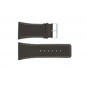 Watch strap Universal P310 Leather Brown 38mm