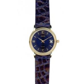 Watch strap Jaguar J601-5 Leather Blue 14mm