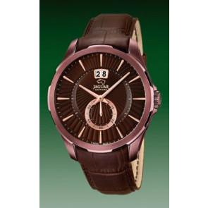 Watch strap Jaguar J684 Leather Brown 22mm