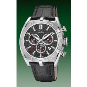 Watch strap Jaguar J857-3 Leather Grey