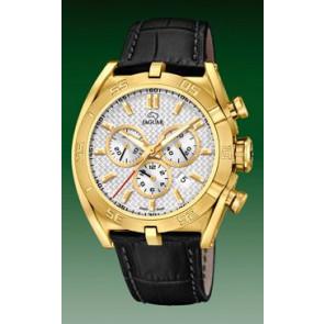 Watch strap Jaguar J858-1 / J858-3 Leather Black