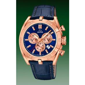 Watch strap Jaguar J859-2 Leather Blue