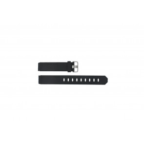 Jacob Jensen watch strap 750 Shine / 755 / 756 / 757 / 760 Rubber Black 17mm