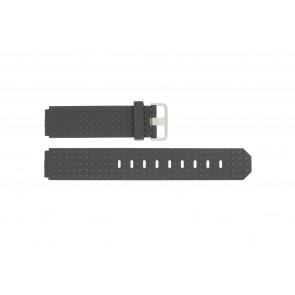Watch strap Jacob Jensen 400 / 410 / 411 / 412 Rubber Black 17mm