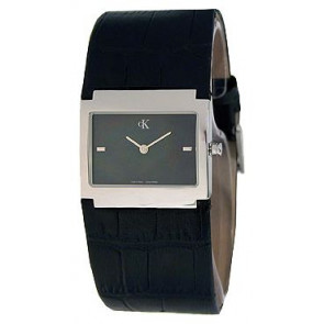 Watch strap Calvin Klein K04281.46 / K600.028.750 Leather Black