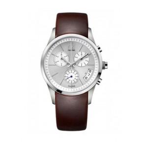 Watch strap Calvin Klein K22271 Rubber Brown