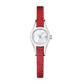 Watch strap Calvin Klein K2723100 Leather Red