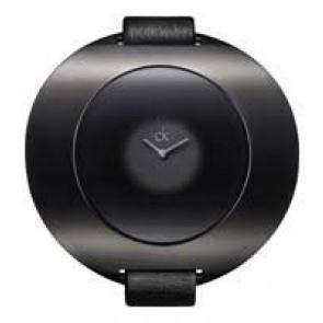 Watch strap Calvin Klein K37231 Leather Black 12mm