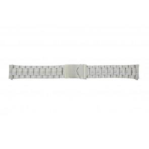 Calypso watch strap K5112 / K5118 Metal Silver 20mm
