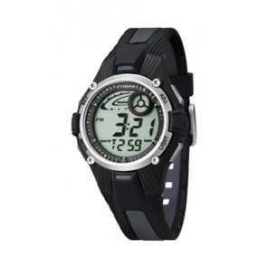 Watch strap Calypso K5558/6 Plastic Black