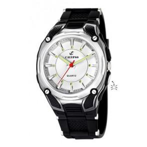 Watch strap Calypso K5560-1 Rubber Black