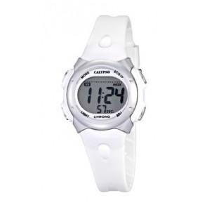Watch strap Calypso K5609-1 Rubber White