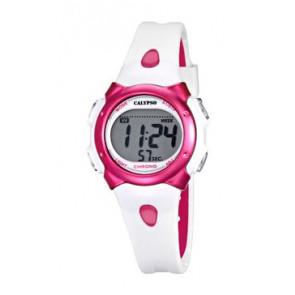 Watch strap Calypso K5609-3 Rubber White