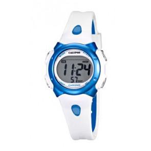 Watch strap Calypso K5609-4 Rubber White