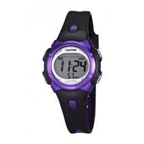 Watch strap Calypso K5609-5 Rubber Black