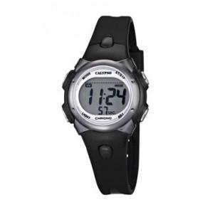 Watch strap Calypso K5609-6 Rubber Black