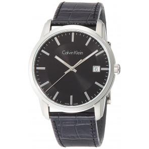Watch strap Calvin Klein K5S 311 Leather Black
