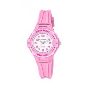 Watch strap Calypso K6070-1 Rubber Pink