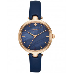 Watch strap Kate Spade New York KSW1157 Leather Blue 6mm