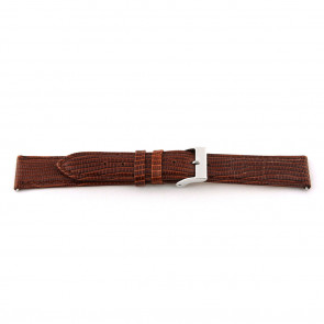 Genuine leather watch band Cognac brown 14mm EX-G62