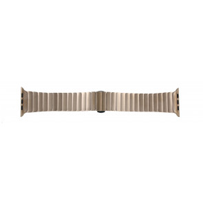 Apple (replacement model) watch strap LS-AB-107 Steel Gold (Rosé) 42mm